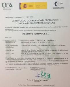 certificado uca indusauto