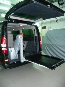 folding ramp fiorella mercedes viano
