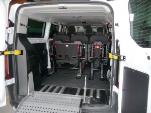 manual folding ramp ford transit