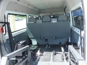 reduced mobility bus ford transit