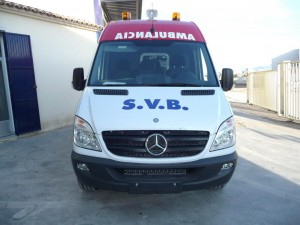 AMBULANCE B MERCEDES SPRINTER (1)