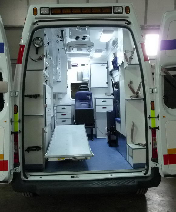 2015 Medix Ford Transit Type Ii Ambulance: Ambulance Type C On A Ford Transit
