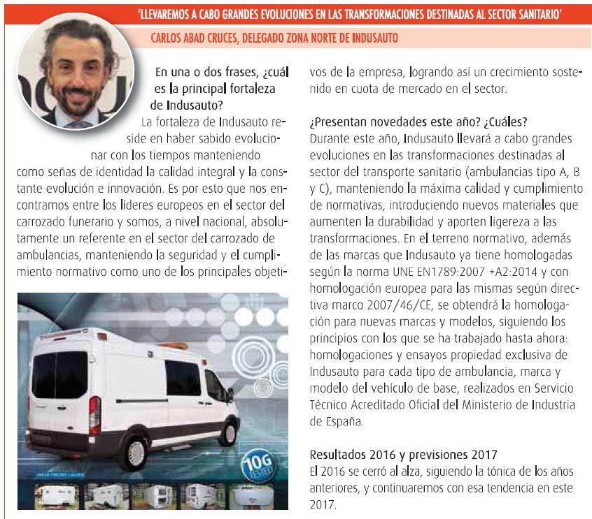 Entrevista Comercial Carlos en Servicios de Emergencia